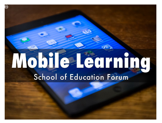 Mobile learning image