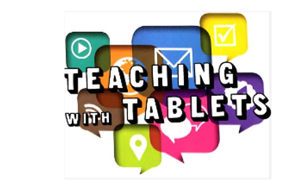 Teaching with tablets image