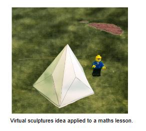 Virtual sculptures image